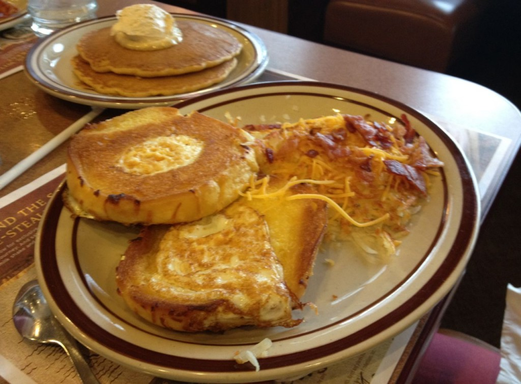 Dennys Hobbit menu - Hobbit Hole Breakfast