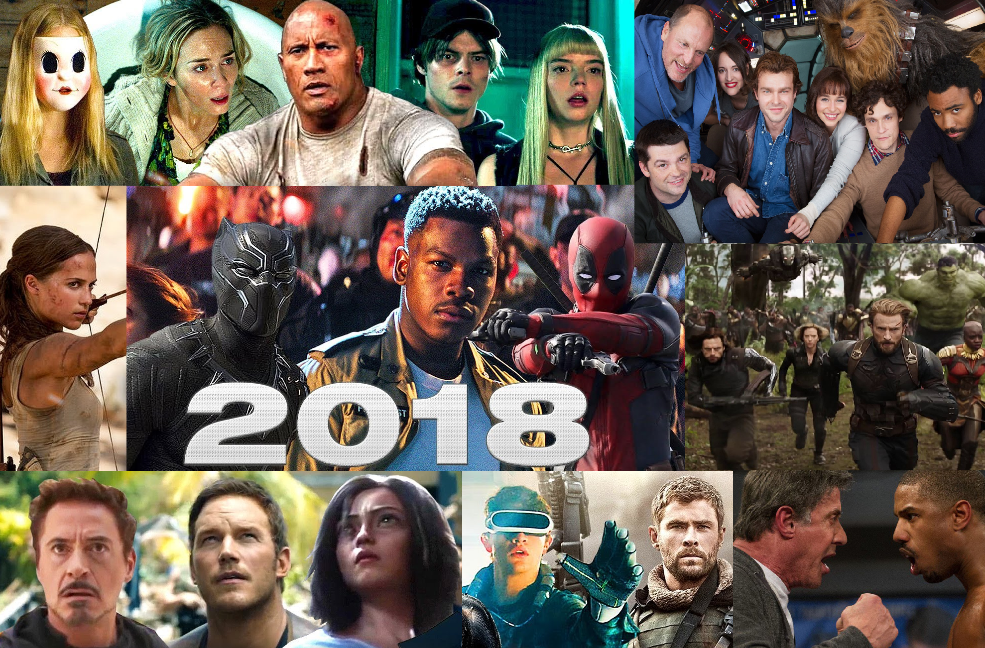 top movies of 2017 and 2018